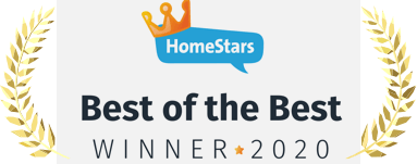 Kovar Roofing Homestars award winner 2020