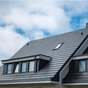 beautiful black slate roof