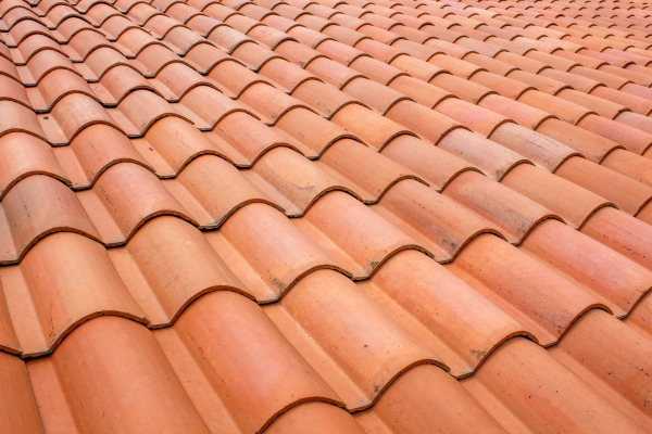 red slate roof
